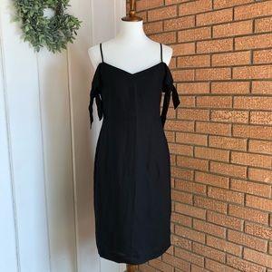 Abercrombie Tie Shoulder Midi Dress